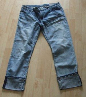 Cuffed Boyfriend  Straight Leg Jeans von Blue Fire W29 L32