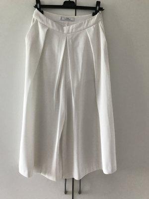 Cullote Hose in Weiß