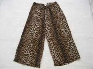 H&M Pantalone culotte nero-bronzo