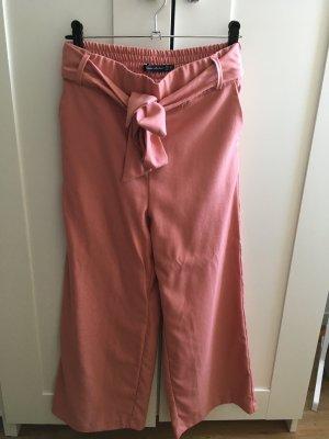 Zara Culotte rose tissu mixte