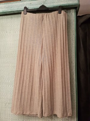 Culotte aus Strickmaterial # beige# elastischer Bund # wie neu # D L/XL