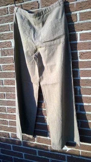 Pantalone culotte multicolore Lino