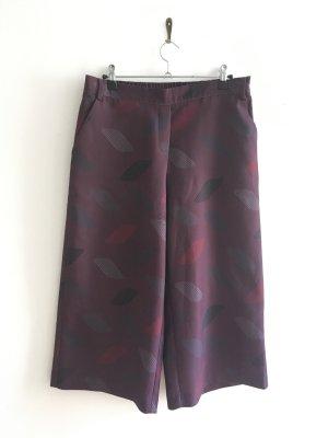 Culotte Hose, violett, Tolles Muster, MEXX, Größe 36, neuwertig