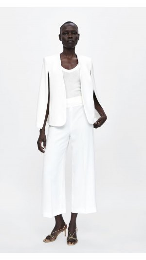 Zara Culottes white