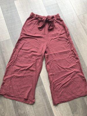 Pull & Bear Pantalone culotte carminio