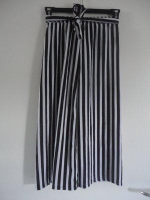 Culottes black-white polyamide
