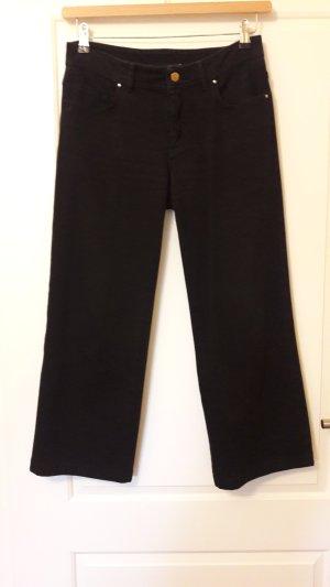 Culotte Jeans schwarz