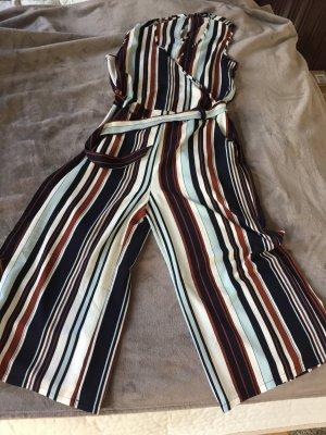 Culotte Jumpsuit mit Streifen