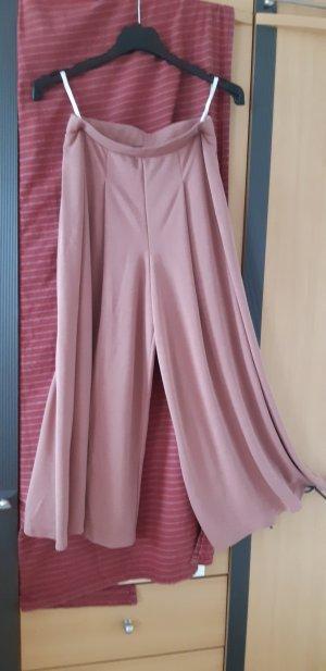 Pantalone culotte rosa antico Modal