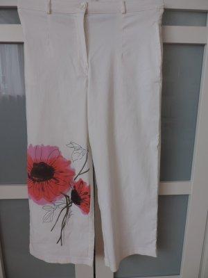 Culotte, von Impressionen Gr. S/M mit Blumen Print. Trendteil.