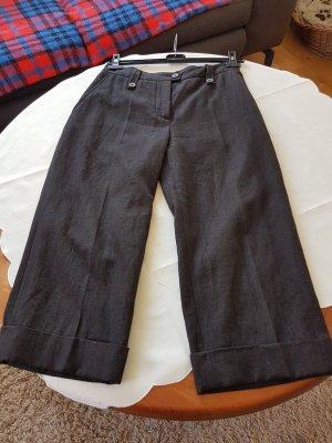 Ischiko Pantalone culotte grigio scuro