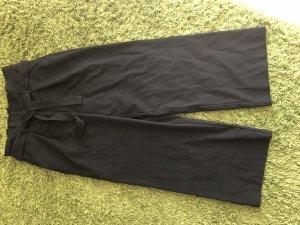 Only Pantalone culotte nero Cotone