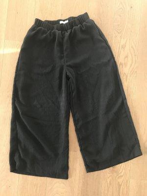Bershka Culottes black
