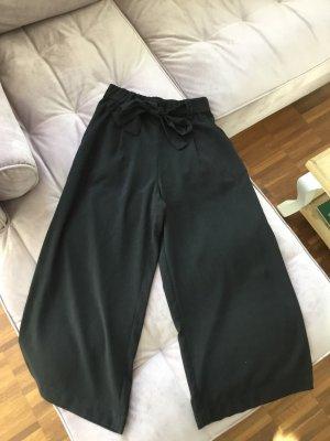 Zara Trafaluc Pantalone culotte nero