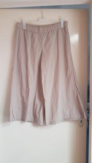 Pantalone culotte beige chiaro