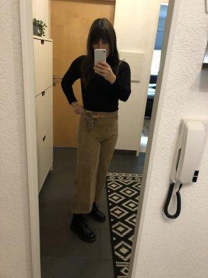 Hailys Pantalone culotte beige