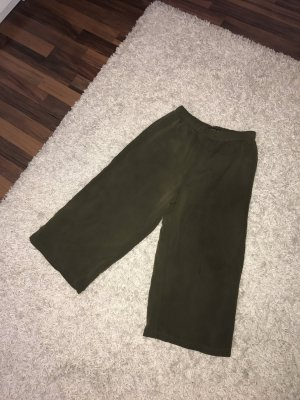 Bershka Culottes khaki polyester