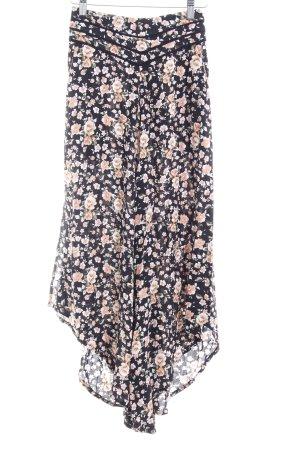 Culottes Blumenmuster Gypsy-Look
