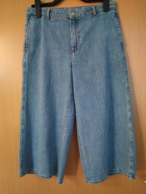 Zara Culotte Skirt azure