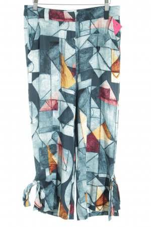 Culottes graphic pattern extravagant style