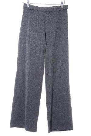 Culottes grey-light grey flecked casual look