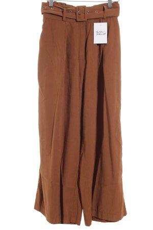 Culottes hellbraun Street-Fashion-Look