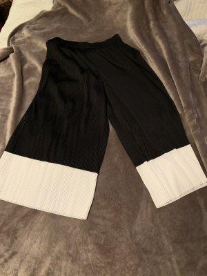Asos Culotte noir-blanc