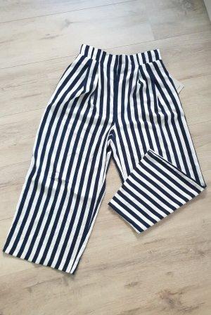 Zara Basic Pantalone culotte multicolore