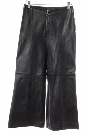Culottes schwarz Rockabilly-Look