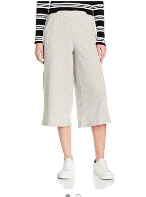 Vero Moda Falda pantalón gris claro