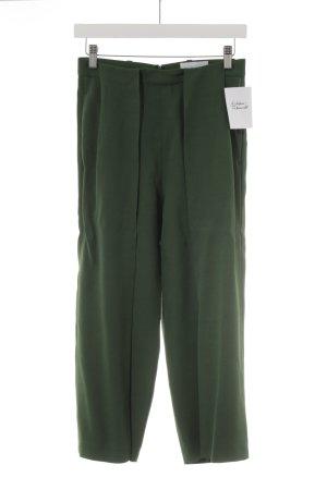 Pantalone culotte verde bosco elegante