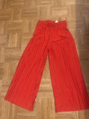 Zara Culottes red