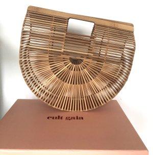 Cult Gaia Bolso tipo cesta beige