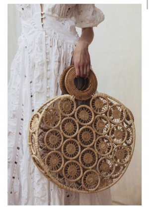 Cult Gaia Korb Tasche