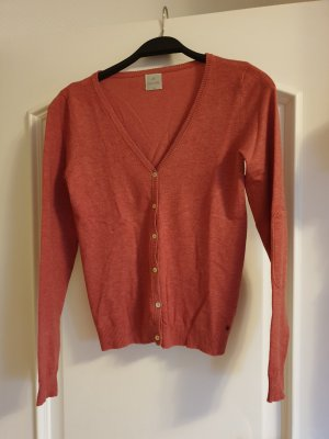 Culture Baumwoll-Strickjacke, rot