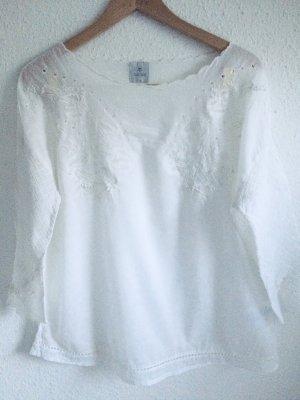 Culture Bluse  aus Baumwolle mit hochwertige Stickerei aus Kopenhagen