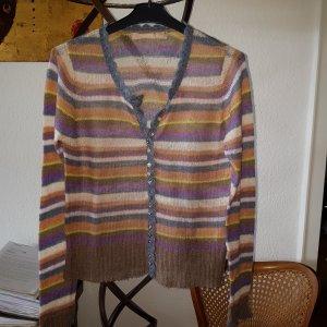 Culture Coarse Knitted Sweater multicolored