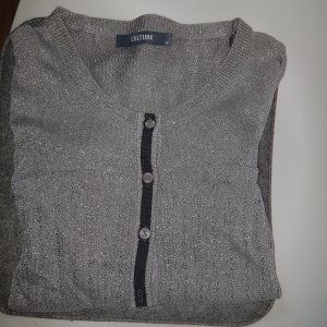 Culture Denmark Cardigan silber metallic GrL (XL)