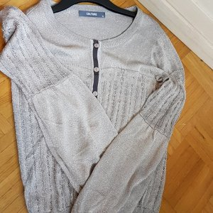 Culture Denmark Cardigan silber metallic GrL (XL)