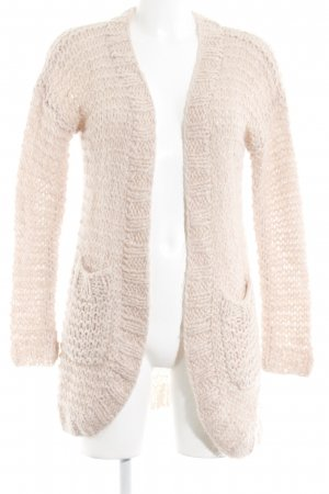 Culture Häkel Cardigan nude Webmuster Casual-Look