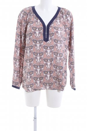 Culture Long Sleeve Blouse allover print business style