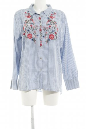Culture Langarm-Bluse florales Muster Casual-Look