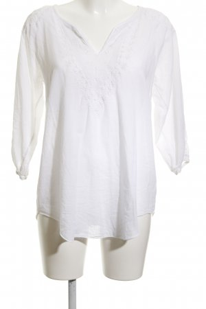 Culture Long Sleeve Blouse white casual look