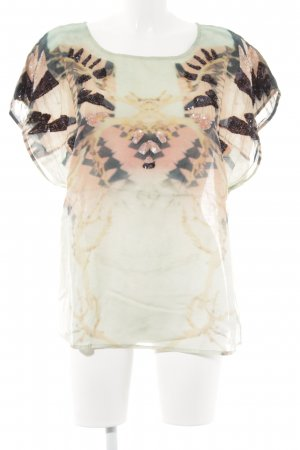 Culture Oversized Shirt animal pattern glittery