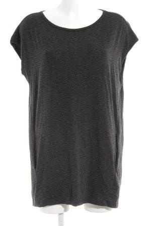 Culture Shirtkleid dunkelgrau meliert Casual-Look