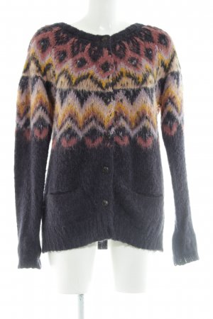 Culture Knitted Cardigan color gradient casual look