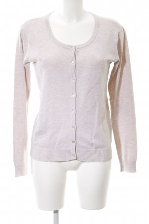 Culture Strickjacke pink meliert Casual-Look