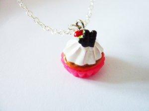 Cupcake Törtchen Kette Rockabilly girly Schmuck