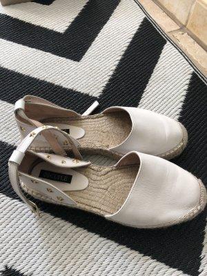 Cuplé Espadrille Sandals white