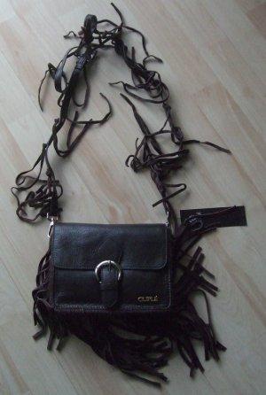 Cuplé Crossbody bag dark brown leather